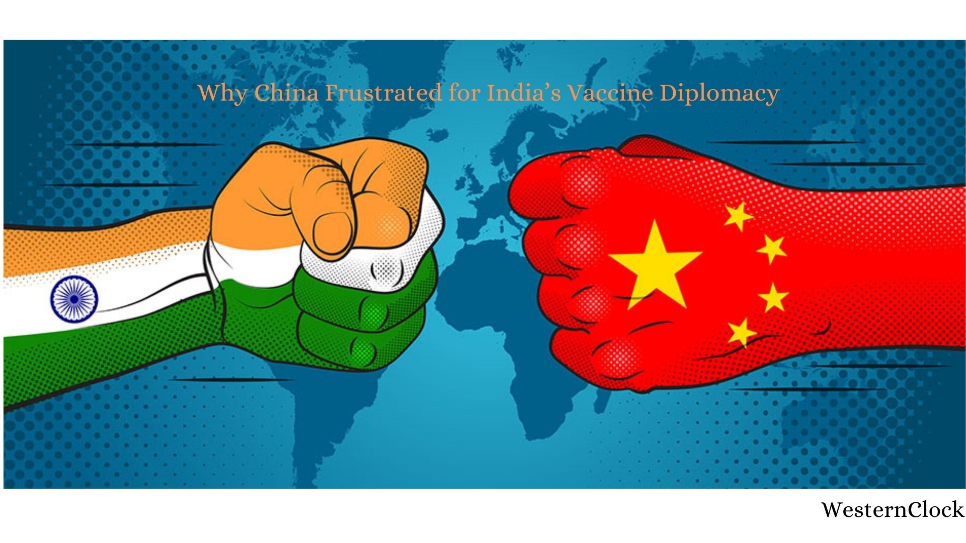 China Frustrated for India's Vaccine