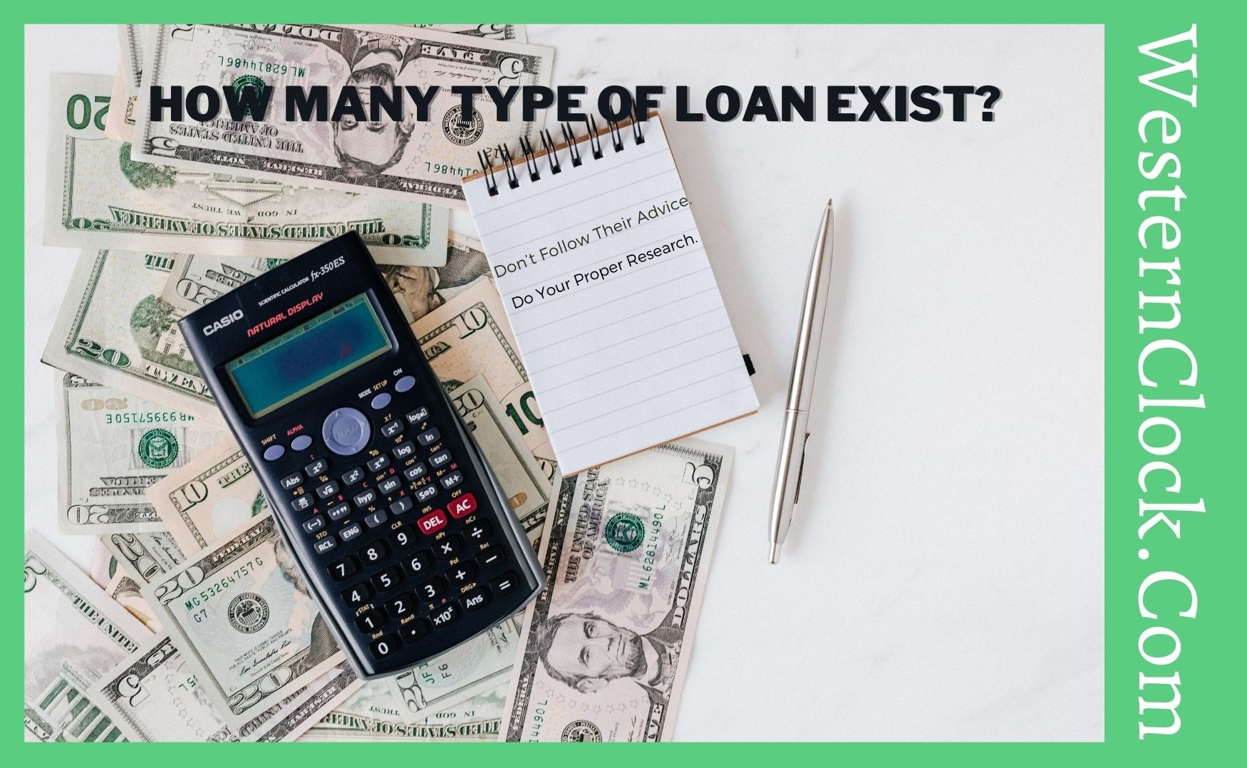 How many type of loan