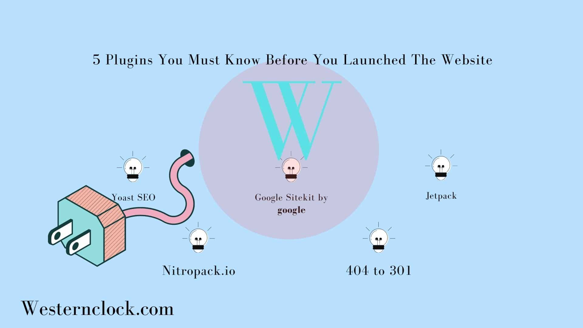 5 Plugins You Must Know Before You Launched The Website