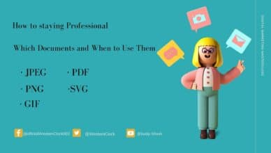 How to staying Professional: Which Documents and When to Use Them