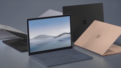 All new Microsoft Surface 4 laptop with all new colors