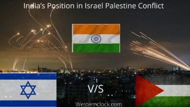 India's Position in Israel Palestine Conflict