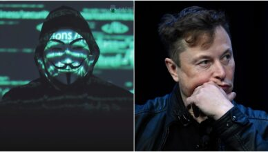 Elon Musk and Anonymous