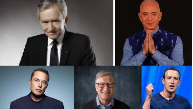 5 Richest People In The World